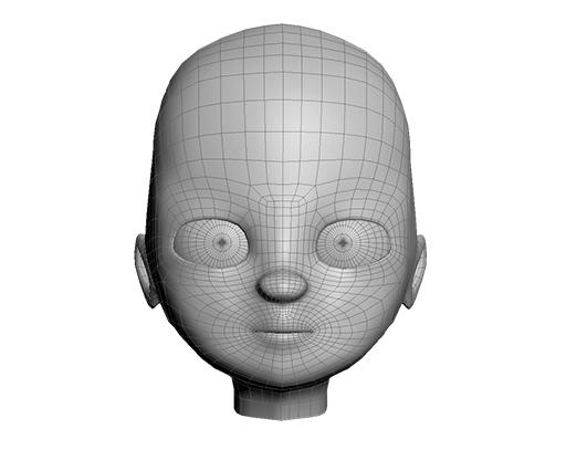 مدلسازی سر کاراکتر انیمیشنی در تری دی مکس